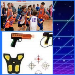 Kids :  Lazer Game & Dynasport